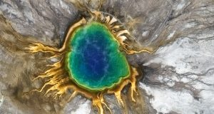 Grand Prismatic Spring, Yellowstone - WorldView-3 Satellite Imagery