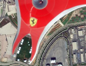 Ferrari World, USA - WorldView-4 Satellite Imagery