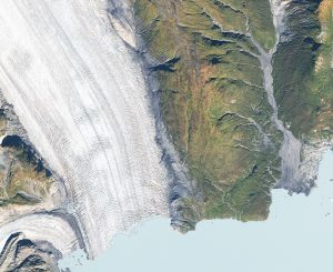 Glacier Bay National Park, Alaska - SPOT 7 Satellite Imagery